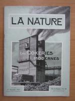 Revista La Nature, nr. 2772, 1 noiembrie 1927