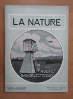 Revista La Nature, nr. 2824, 1 ianuarie 1930