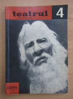 Anticariat: Revista Teatrul, nr. 4, anul VIII, aprilie 1963