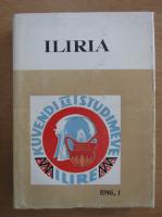 Anticariat: Reviste Arkeologjike Iliria, nr. 1, 1986