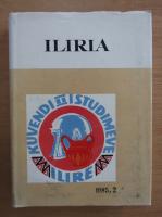 Anticariat: Reviste Arkeologjike Iliria, nr. 2, 1985