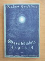 Anticariat: Robert Henseling - Sternbuchlein 1931