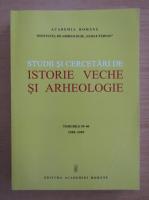 Anticariat: Studii si cercetari de istorie veche si arheologie, tomurile 59-60, 2008-2009