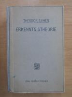 Anticariat: Theodor Ziehen - Erkenntnistheorie