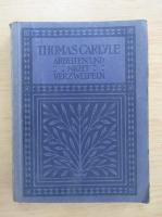 Anticariat: Thomas Carlyle - Arbeiten und nicht verzweifeln