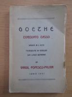 Anticariat: Virgil Popescu-Palvir - Goethe