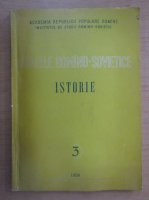 Anticariat: Analele Romano-Sovietice. Istorie, nr. 3, 1958