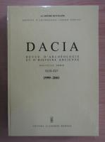 Anticariat: Dacia. Revue d'archeologie et d'histoire ancienne (volumele 43-45)