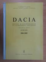 Anticariat: Dacia. Revue d'archeologie et d'histoire ancienne (volumele 48-49)