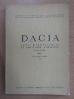 Anticariat: Dacia. Revue d'archeologie et d'histoire ancienne (volumul 26)