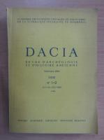 Anticariat: Dacia. Revue d'archeologie et d'histoire ancienne (volumul 32)