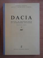 Anticariat: Dacia. Revue d'archeologie et d'histoire ancienne (volumul 51)
