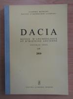 Anticariat: Dacia. Revue d'archeologie et d'histoire ancienne (volumul 54)