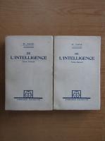 Anticariat: H. Taine - De l'intelligence (2 volume)