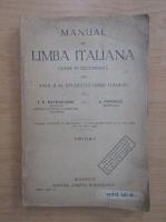 I. V. Patrascanu - Manual de limba italiana. Clasa a VI-a secundara (anul II de studiu)