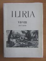 Anticariat: Iliria, nr. 7-8, 1977-1978