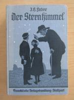 Anticariat: J. H. Fabre - Der Sternhimmel
