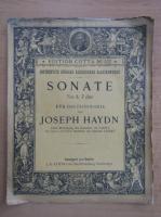 Anticariat: Joseph Haydn - Sonate no. 3 F dur fur das pianoforte