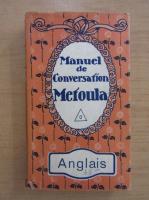Anticariat: Manuel de conversation Metoula. Anglais