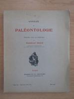 Anticariat: Marcellin Boule - Annales de paleontologie (volumul 20, fasciculele 3 si 4)