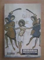 Memoria. Revista gandirii arestate, nr. 1, 1990