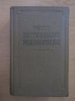 Petit dictionnaire philosophieque