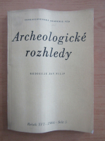 Anticariat: Rediguje Jan Filip - Archeologicke rozhledy. XVI, nr. 5, 1964
