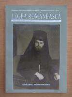 Anticariat: Revista Legea romaneasca, anul XXII, nr. 1, 2011
