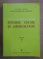 Anticariat: Studii si cercetari de istorie veche si arheologie, tomul 63, nr. 3-4, 2012