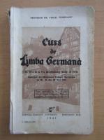 Anticariat: Virgil Tempeanu - Curs de limba germana, clasa a IV-a si a V-a secundara