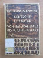 Anticariat: Wolfgang Stammler - Deutsche Literatur
