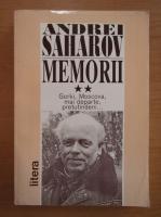 Anticariat: Andrei Saharov - Memorii (volumul 2)