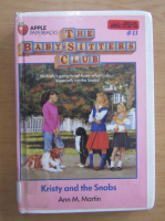 Anticariat: Ann M. Martin - Kristy and the snobs