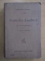 Anticariat: Deutsches Lesebuch mit Sprechubungen