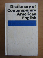 Anticariat: Dictionary of Contemporary American English