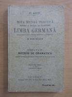 F. Ahn - Noua metoda practica pentru a invata cu inlesnire limba germana, cursul II si III