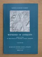 Anticariat: G. R. Meyer - Witnesses of Antiquity
