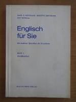 Anticariat: Hans G. Hoffmann - Englisch fur Sie. Ein moderner Sprachkurs dur Erwahsene (volumul 3)