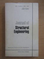 Anticariat: Journal of Structural Engineering, volumul 110, nr. 5, mai 1984