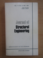 Anticariat: Journal of Structural Engineering, volumul 111, nr. 13, decembrie 1985