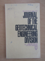 Anticariat: Journal of the Geotechnical Engineering Division, volumul 100, nr. 8, august 1974