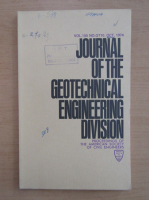 Anticariat: Journal of the Journal of the Geotechnical Engineering Division, volumul 100, nr. 9, septembrie 1974 Division, volumul 100, nr. 10, octombrie 1974