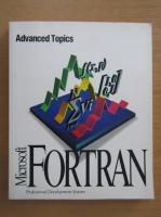 Anticariat: Microsoft fortran. Advanced topics