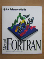 Anticariat: Microsoft fortran. Quick reference guide