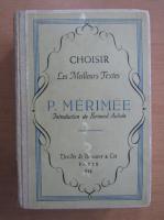 Anticariat: Prosper Merimee - Choisir Les Meilleurs Textes