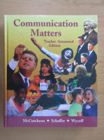 Anticariat: Randall McCutcheon - Communication Matters