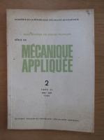 Anticariat: Revista Mecanique appliquee, tomul 31, nr. 2, martie-aprilie 1986