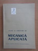 Anticariat: Studii si cercetari de mecanica aplicata, tomul 42, nr. 2, martie-aprilie 1983