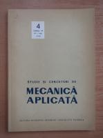 Anticariat: Studii si cercetari de mecanica aplicata, tomul 44, nr. 4, iulie-august 1985
