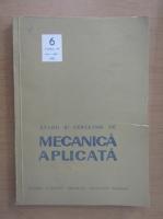 Anticariat: Studii si cercetari de mecanica aplicata, tomul 44, nr. 6, noiembrie-decembrie 1985